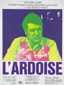 Vintage French movie poster - L'ardoise